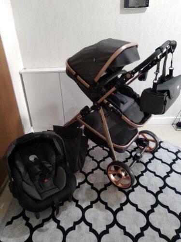 Kiwi City Way 5 in 1 Bebek Arabasi,Portbebe,Taşıma Koltuğu,Bakım Çantası,Yağmurluk-Black photo review