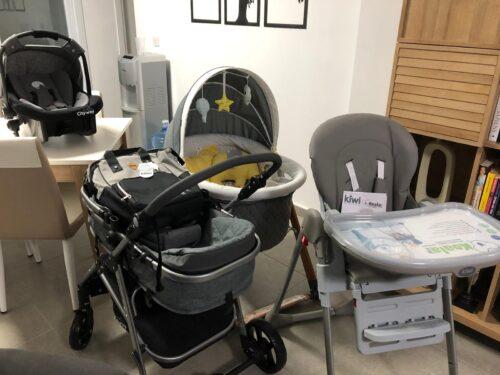 Kiwi City Way 5 in 1 Bebek Arabasi,Portbebe,Taşıma Koltuğu,Bakım Çantası,Yağmurluk-Gray photo review