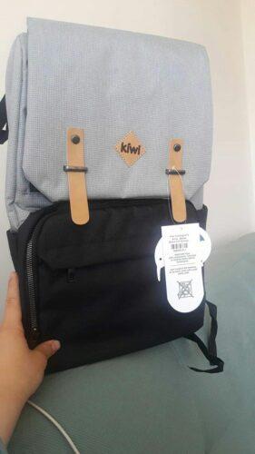 Kiwi CoolBag Anne-Bebek Bakım Sırt Çantası - Coffee photo review
