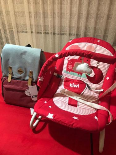 Kiwi CoolBag Anne-Bebek Bakım Sırt Çantası - Red photo review