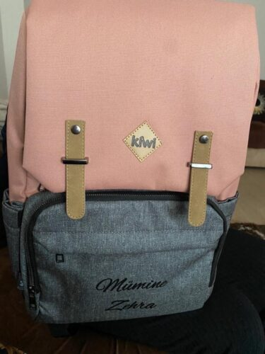 Kiwi CoolBag (İsme Özel) Anne-Bebek Bakım Sırt Çantası photo review