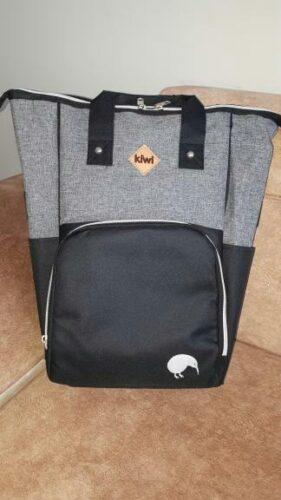 Kiwi T-Bag Anne-Bebek Bakım Sırt Çantası-Siyah photo review