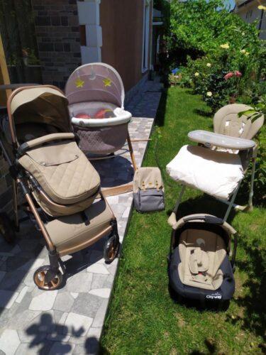 Kiwi 4x4 Yeni Doğan Paketi | CityWay Bebek Arabası + Koala Mama Sandalyesi + Sleeper Beşik + T-Bag Çanta | (Kiwi Oyun Arkadaşı Hediye) Black photo review