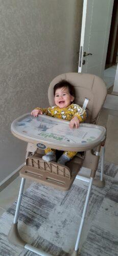 Kiwi Koala All in One Katlanır Tekerlekli Mama Sandalyesi - Latte photo review