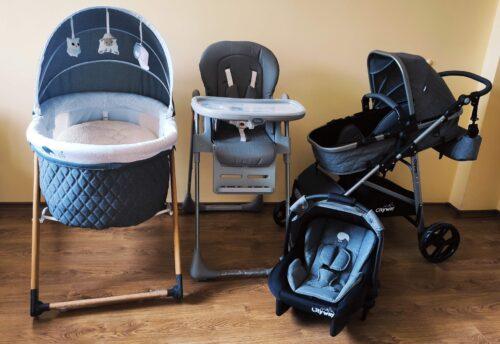 Kiwi 4x4 Yeni Doğan Paketi | CityWay Bebek Arabası + Koala Mama Sandalyesi + Sleeper Beşik + T-Bag Çanta | (Kiwi Oyun Arkadaşı Hediye ) Gray photo review