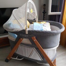 Kiwi Zoody Park Yatak & Carousel Uyku Seti ( Bebek Beşiği&Park Yatak, Yorgan, Çarşaf, Yastık, Yastık Kılıfı, Fil Oyun Arkadaşı ) - Gray photo review