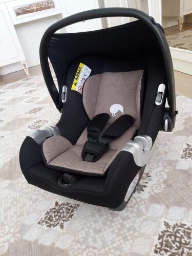 Kiwi Innova Safe & Comfort 0-13 kg Bel Destekli, Extra Minderli, Alman Kemer Tokalı, Güvenlik Onaylı, Bebek Taşıma ve Oto Koltuğu ve Ana Kucağı - Coffee photo review