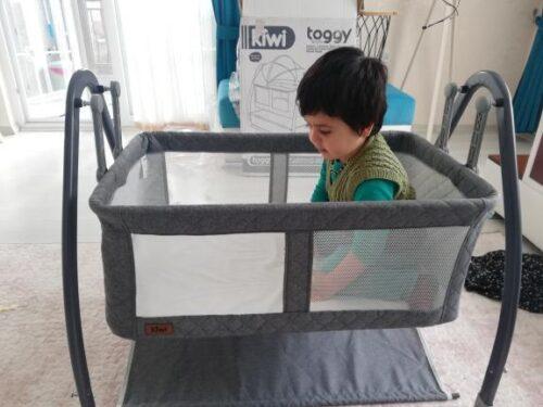 Kiwi Toggy Sallanabilir Metal Platformlu Anne Yanı Portatif Bebek Beşiği - Gray photo review